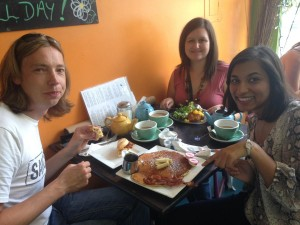 Kiwi Cafe Pancakes
