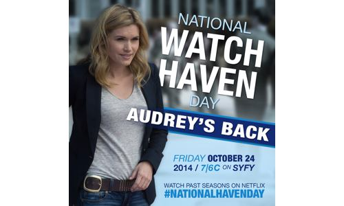 National Haven Day – Friday, October 24, 2014