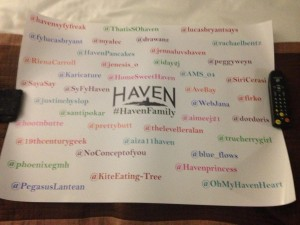 #HavenFamily Poster